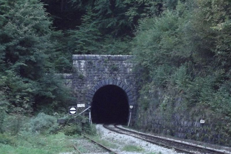 Northern portal of tunnel Bled (Photo: Lothar Brill)