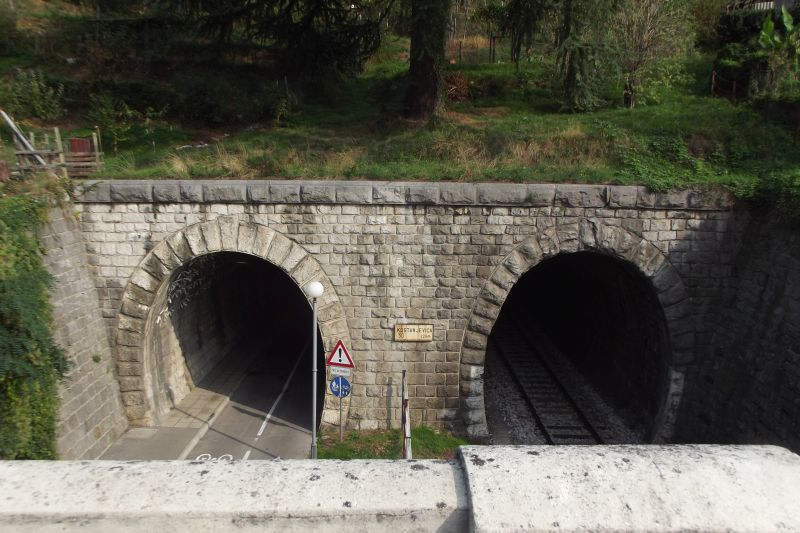 Southern portal of tunnels Kostanjevica